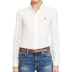 Polo Ralph Lauren Sport Knit Cotton Oxford Shirt